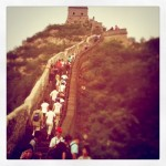 Stairrunning on the Great Wall of China
