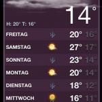 Dunkel ≠ kalt