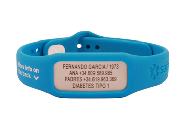 Ein Armband kann dein Leben retten!